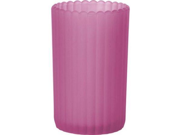 Lysholder DUNI patio frostet rosa (6)