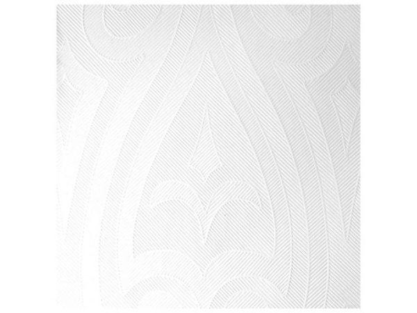 Serviett DUNI 48cm elegance hvit (40)
