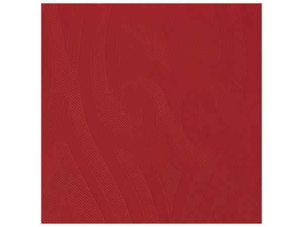 Serviett DUNI 40cm elegance rød (40)