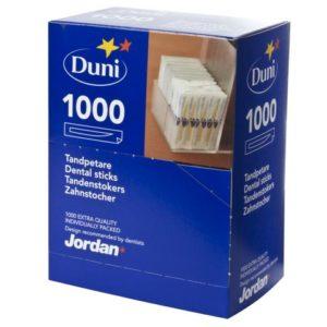Tannstikker JORDAN disp. enkpk.(1000)