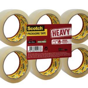 Emb.tape SCOTCH kraftig 50x66 klar (6)
