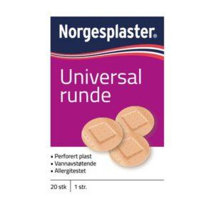 Plaster universal runde