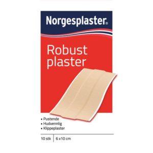 Plaster robust tekstil 10 stk