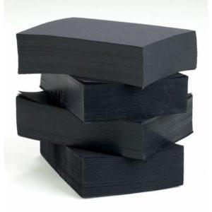 Farget papir A4 110g svart (2000)