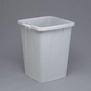 Avfallsbeholder DURABLE firkant 90L grå
