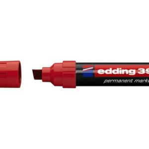 Merkepenn EDDING 390 rød