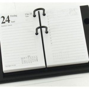 Bordkalenderstativ GRIEG Bordkal. sort