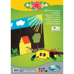 Fargeblokk MAILDOR A4 120g 30 blad 10fr