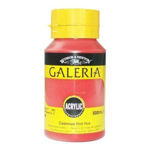 Akrylfarge Galeria 500ml rød