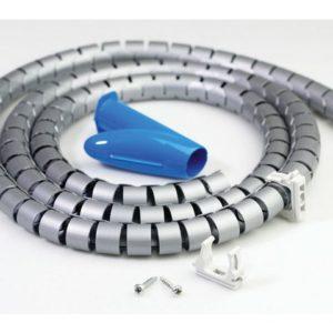 Kabelstrømpe ERGOSPACE sølv
