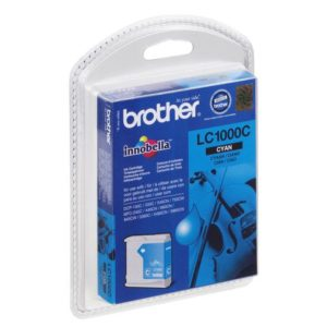Blekk BROTHER LC1000C blå