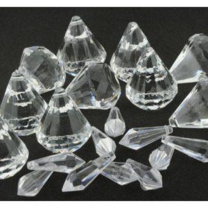 Prismer akryl 2 størrelser (20)