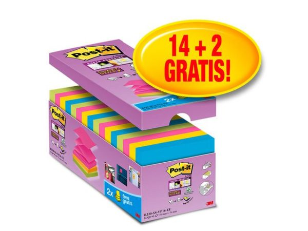 POST-IT SuperS Z-N 76x76mm R330 (16)