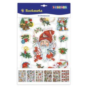Glansbilder bokmerke julemotiv (67)