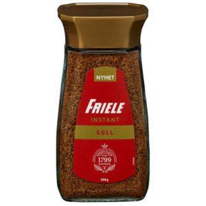 Kaffe FRIELE instant Gull glass 200g