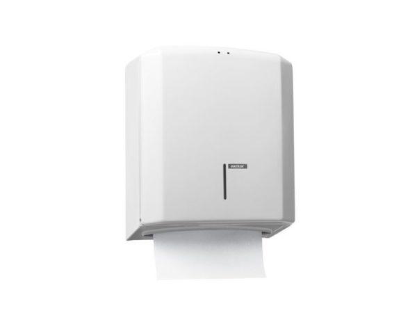 Dispenser KATRIN tørkeark c-fold hvit