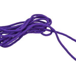 Hoppetau tekstil uten håndtak 6m