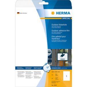 Etikett HERMA utendørs A4 210x297 (10)