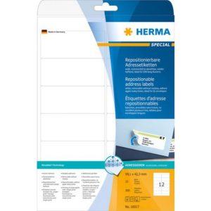 Etikett HERMA adr A4 99