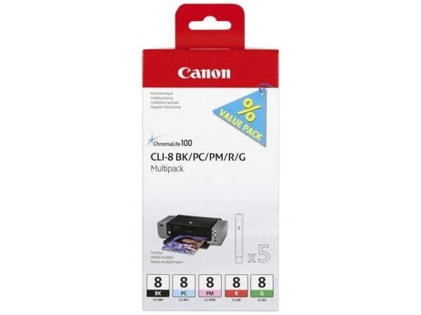 Blekk CANON CLI-8 Multipack (5)