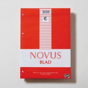 Novusblad A4 linjert 100blad