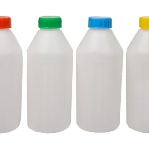 Dynkeflaske PLS m/skrukork 0