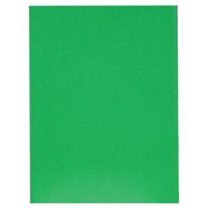 Aktomslag A4 dobbel m/kant grønn