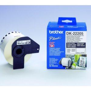Etikett BROTHER DK-22205 62mmx30