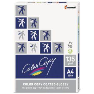 Kopipapir COLOR COPY gloss A4 135g (250