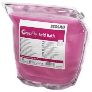 Sanitær ECOLAB OasisPro Acid Bath 2L