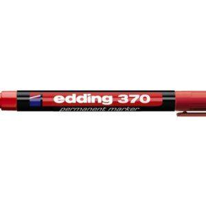 Merkepenn EDDING 370 rød