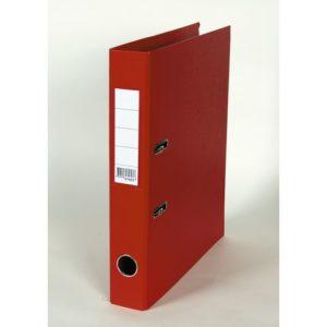 Smalordner 50mm skinne A4 rød