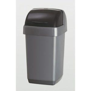 Avfallsdunk ADDIS med rullelokk 10L søl