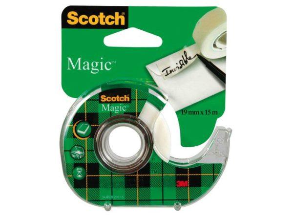 Tape SCOTCH Magic 810 19mmx15m m/disp