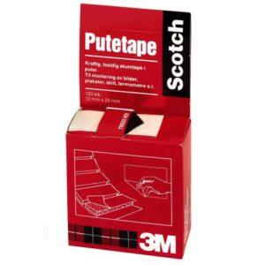 Putetape SCOTCH dobbeltsidig (100)