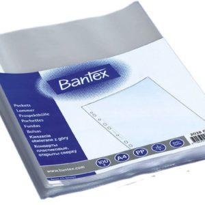 Plastlomme BANTEX A4 topp 50my (100)