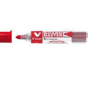 Whiteboardpenn PILOT V-Board M rund rød
