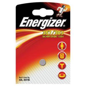 Batteri ENERGIZER sølvoksid 357/303