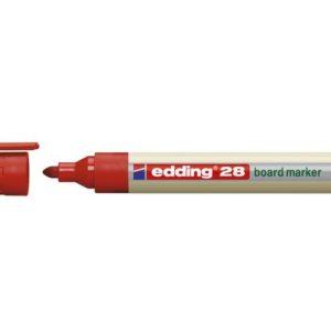 Whiteboardpenn EDDING 28 EcoLine rød