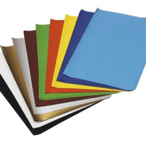 Glanspapir 35x50cm 5 ark x10 farger
