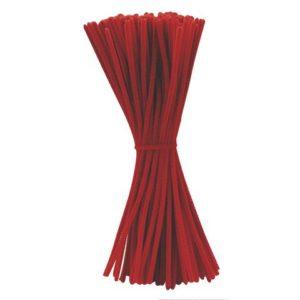 Piperensere røde 30cm blanke (100)
