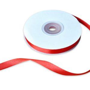 Satinbånd 10mmx30m rød