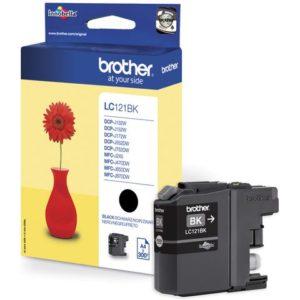 Blekk BROTHER LC121BK sort