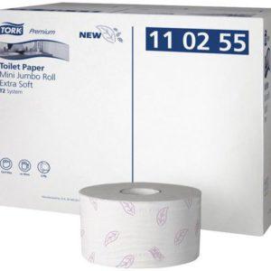 Toalettpapir TORK mini jumbo rull T2