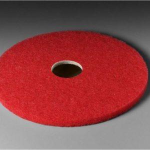 """Gulvpad 3M 15""""/380mm rød (5)"""