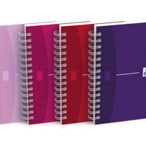Notatbok OXFORD MyStyle 9x14 lin ass fr