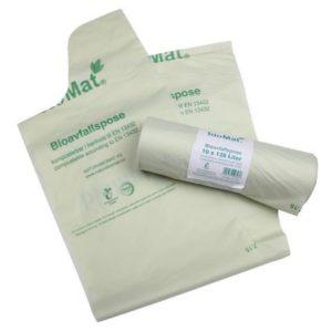 Biosekk BIOMAT knyte sterk 22my 120L(10