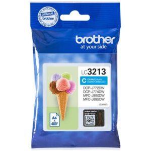Blekk BROTHER LC3213 cyan