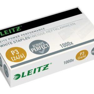 Heftestift LEITZ 24/6 Hvit (1000)
