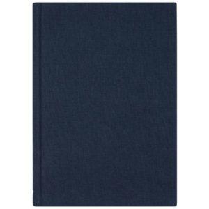 Skrivebok BURDE A4 linjer blå